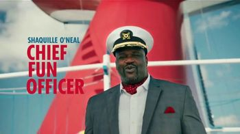 Carnival TV Spot, \'Tour Carnival Vista with New CFO Shaquille O\'Neal: Cruises from $279\'