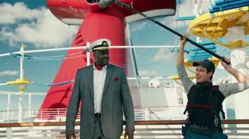 Carnival TV Spot, 'Tour Carnival Vista with New CFO Shaquille O'Neal: Cruises from $279'