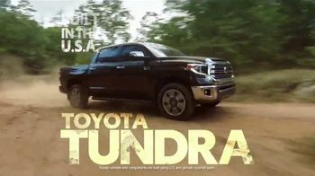 Toyota Truck Month TV Spot, 'Work or Play' [T2] - Thumbnail 3
