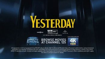 DIRECTV Cinema TV Spot, \'Yesterday\'