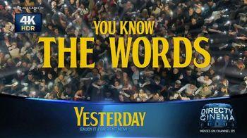 DIRECTV Cinema TV Spot, 'Yesterday' - Thumbnail 2