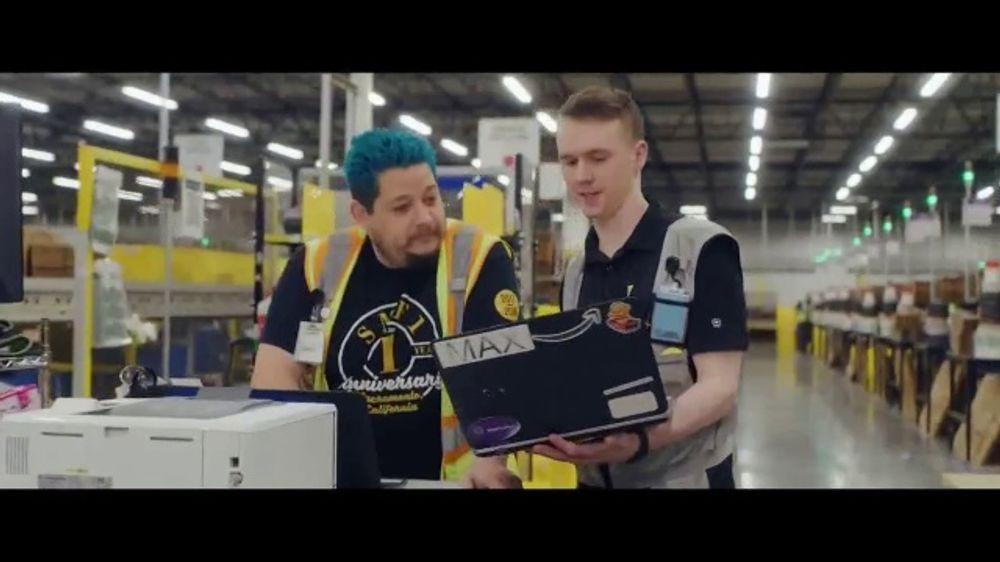 Amazon TV Commercial, 'Work Hard'