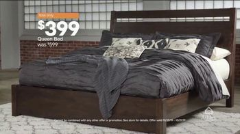 Ashley HomeStore Lowest Prices of the Year Event TV Spot, 'Queen Bed' Song by Midnight Riot - Thumbnail 6
