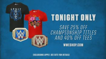 WWE Shop TV Spot, 'Bring the Action: Titles and Tees' Song by SATV Music - Thumbnail 7