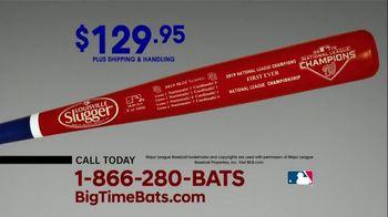 Big Time Bats Louisville Slugger TV Spot, 'Nationals 2019 World Series Two Tone Bat' - Thumbnail 7
