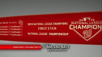 Big Time Bats Louisville Slugger TV Spot, 'Nationals 2019 World Series Two Tone Bat' - Thumbnail 1