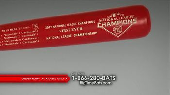 Big Time Bats Louisville Slugger TV Spot, 'Nationals 2019 World Series Two Tone Bat' - Thumbnail 4