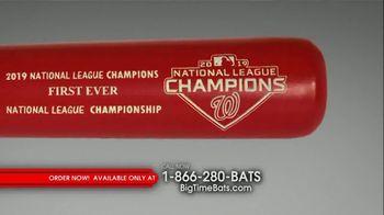 Big Time Bats Louisville Slugger TV Spot, 'Nationals 2019 World Series Two Tone Bat' - Thumbnail 5