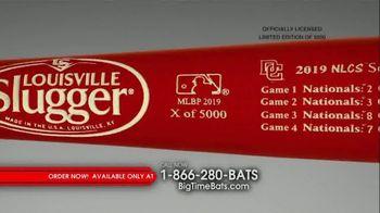 Big Time Bats Louisville Slugger TV Spot, 'Nationals 2019 World Series Two Tone Bat' - Thumbnail 6