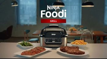 Ninja Foodi Grill TV Spot, 'Grill and Fry'