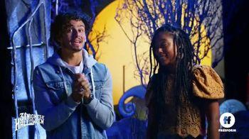 Party City TV Spot, 'Freeform: Halloween House' Featuring Tommy Martinez, Zuri Adele