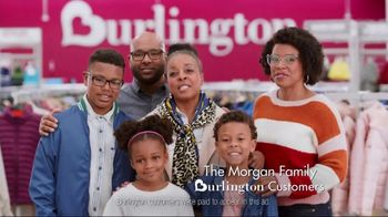 Burlington TV Spot, 'The Morgan Family Saves Big on Cold Weather Essentials'
