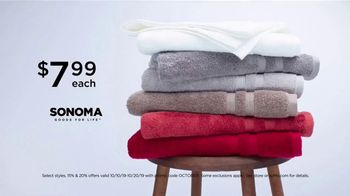 Kohl's Home Sale TV Spot, 'Bath Towels and Coffee Maker: Take Extra $20 Off' - Thumbnail 4