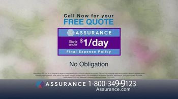 Assurance Final Expense Policy TV Spot, 'Protect Your Family' - Thumbnail 8