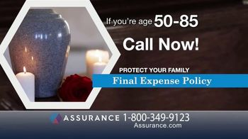 Assurance Final Expense Policy TV Spot, 'Protect Your Family' - Thumbnail 1