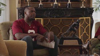 Nissan TV Spot, 'Heisman House: Bo vs. Machine' Featuring Bo Jackson, Baker Mayfield [T1] - 58 commercial airings
