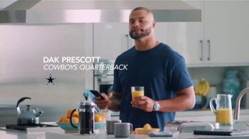 Sleep Number 360 Smart Bed TV Spot, 'Will It?: Save $600' Featuring Dak Prescott - 134 commercial airings