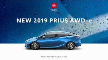 2019 Toyota Prius TV Spot, 'Dear Downpour' [T2]