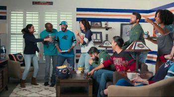 Lowe's TV Spot, 'Official Sponsor of the NFL: Valspar Paints' - 30 commercial airings