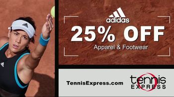 Tennis Express TV Spot, 'Adidas Apparel for the Family' - Thumbnail 1