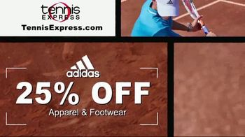 Tennis Express TV Spot, 'Adidas Apparel for the Family' - Thumbnail 2