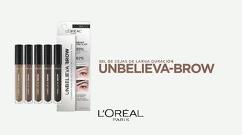 L'Oreal Paris Unbelieva-Brow Longwear Brow Gel TV Spot, 'Impecables' [Spanish] - Thumbnail 8