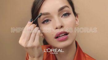 L'Oreal Paris Unbelieva-Brow Longwear Brow Gel TV Spot, 'Impecables' [Spanish] - Thumbnail 3