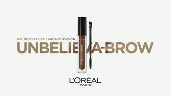 L'Oreal Paris Unbelieva-Brow Longwear Brow Gel TV Spot, 'Impecables' [Spanish] - Thumbnail 4