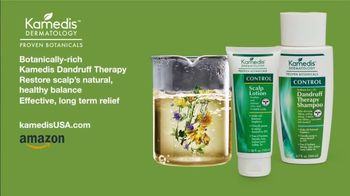 Kamedis Dandruff Therapy TV Spot, 'Relief Looks Like This' - Thumbnail 7