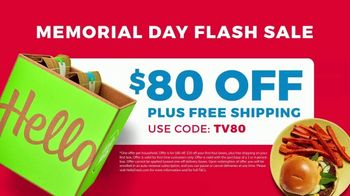 HelloFresh Memorial Day Flash Sale TV Spot, 'Fresh Ingredients' - Thumbnail 9