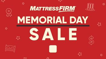 Mattress Firm Memorial Day Sale TV Spot, 'Extended Through Tuesday' - Thumbnail 1
