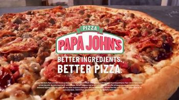 Papa John's BBQ Pizzas TV Spot, 'Fall in Love' Song by George Thorogood & The Destroyers - Thumbnail 7