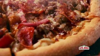 Papa John's BBQ Pizzas TV Spot, 'Fall in Love' Song by George Thorogood & The Destroyers - Thumbnail 3