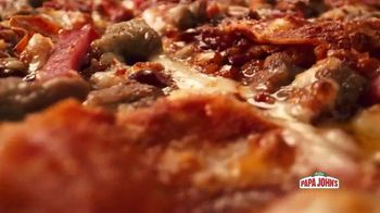 Papa John's BBQ Pizzas TV Spot, 'Fall in Love' Song by George Thorogood & The Destroyers - Thumbnail 6