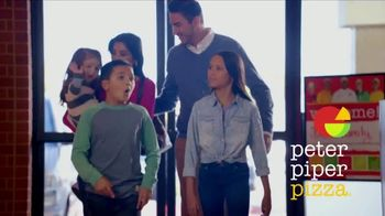 Peter Piper Pizza Crave Fan Fave TV Spot, 'Together' - Thumbnail 1