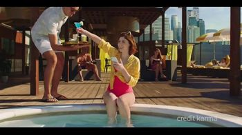 Credit Karma TV Spot, \'From Poolside to Paradise\'