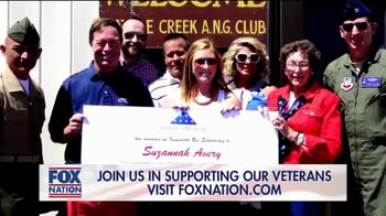 FOX Nation TV Spot, 'Godspeed: Folds of Honor' Featuring Sean Hannity - Thumbnail 9