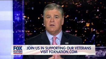 FOX Nation TV Spot, 'Godspeed: Folds of Honor' Featuring Sean Hannity - Thumbnail 1
