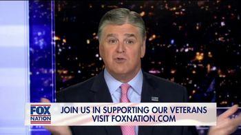 FOX Nation TV Spot, 'Godspeed: Folds of Honor' Featuring Sean Hannity - Thumbnail 3