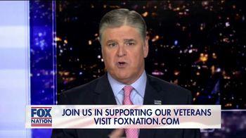 FOX Nation TV Spot, 'Godspeed: Folds of Honor' Featuring Sean Hannity - Thumbnail 4