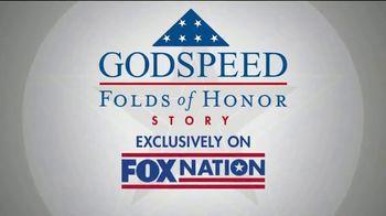 FOX Nation TV Spot, 'Godspeed: Folds of Honor' Featuring Sean Hannity - Thumbnail 6