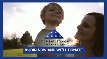 FOX Nation TV Spot, 'Memorial Day Weekend: Folds of Honor Donation'