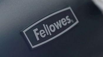 Fellowes Shredder TV Spot, 'The World's Toughest: Work Better' - Thumbnail 4