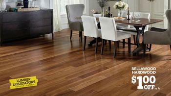 Lumber Liquidators Staycation Flooring Sale TV Spot, 'Bellawood Hardwood & Waterproof Floors' - Thumbnail 2