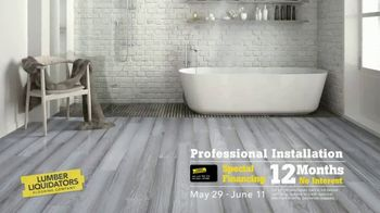 Lumber Liquidators Staycation Flooring Sale TV Spot, 'Bellawood Hardwood & Waterproof Floors' - Thumbnail 4