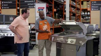 The Home Depot Memorial Day Savings TV Spot, 'Growing & Gathering: Baskets, Grills & Trimmers' - Thumbnail 1