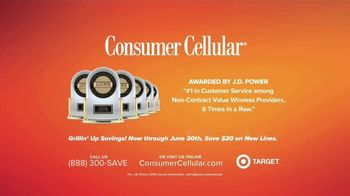 Consumer Cellular TV Spot, 'Just For You: Grillin' Up: $20 Credit' - Thumbnail 7