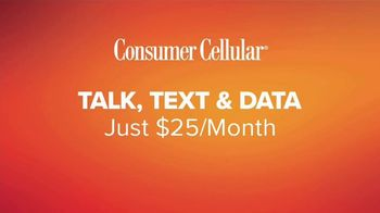 Consumer Cellular TV Spot, 'Just For You: Grillin' Up: $20 Credit' - Thumbnail 6