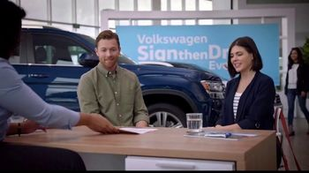 Volkswagen Sign Then Drive Event TV Spot, 'Coffee' [T2] - 1324 commercial airings