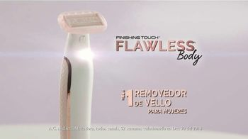 Finishing Touch Flawless Body TV Spot, 'Una mejor forma de depilarte' [Spanish] - Thumbnail 2